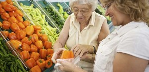 Impact de l'alimentation sur personnes âgées