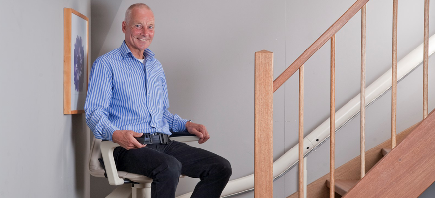 Installer un monte escalier électrique