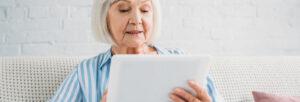 tablette pour personne agée